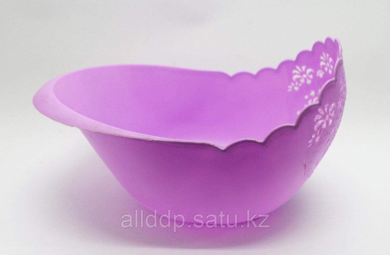 Фруктовница, фиолетовая, D 240 мм