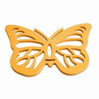 7268 FISSMAN Силиконовая подставка под горячее 21x15 см в форме бабочки на магните