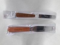 Кулинарная лопатка деревянная ручка 26 см, фото 1