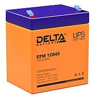 Аккумулятор Delta DTM 12045 (12В, 4,5Ач), фото 1