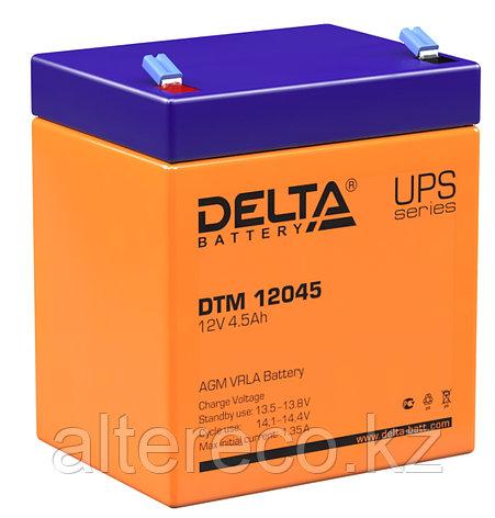 Аккумулятор Delta DTM 12045 (12В, 4,5Ач), фото 2
