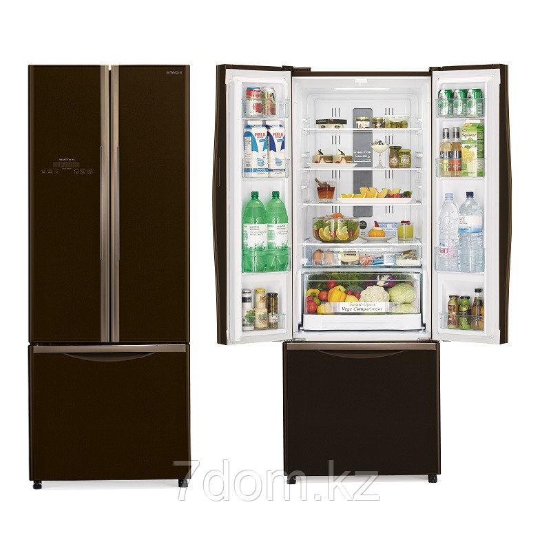 Холодильник S-b-S Hitachi  R-WB552PU2 GBK