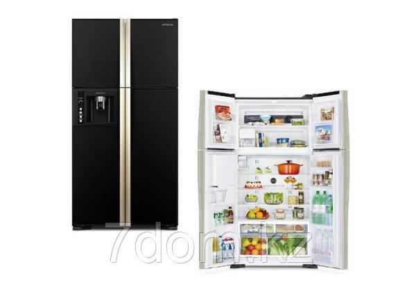 Холодильник S-b-S Hitachi  R-W720FPUC1X GBK