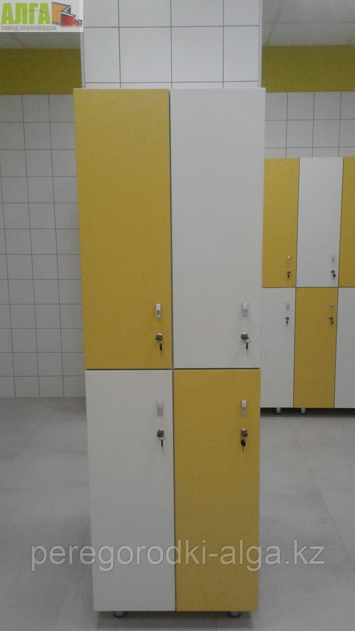 Шкаф для раздевалки 2-секционный 4-местный