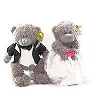 """Мягкие игрушки"""" Жених и Невеста""""Тедди 23 см"""