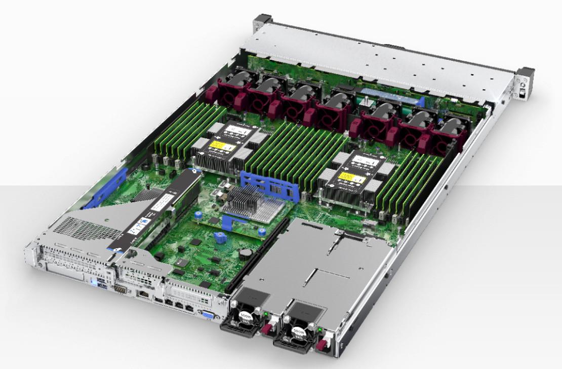 HPE DL360 Gen10 (1xXeon4114(10C-2.2G)/ 1x16GB DR/ 8 SFF hp/ P408i-a 2GB Batt/ 4x1GbE/ 1x500W в Алматы