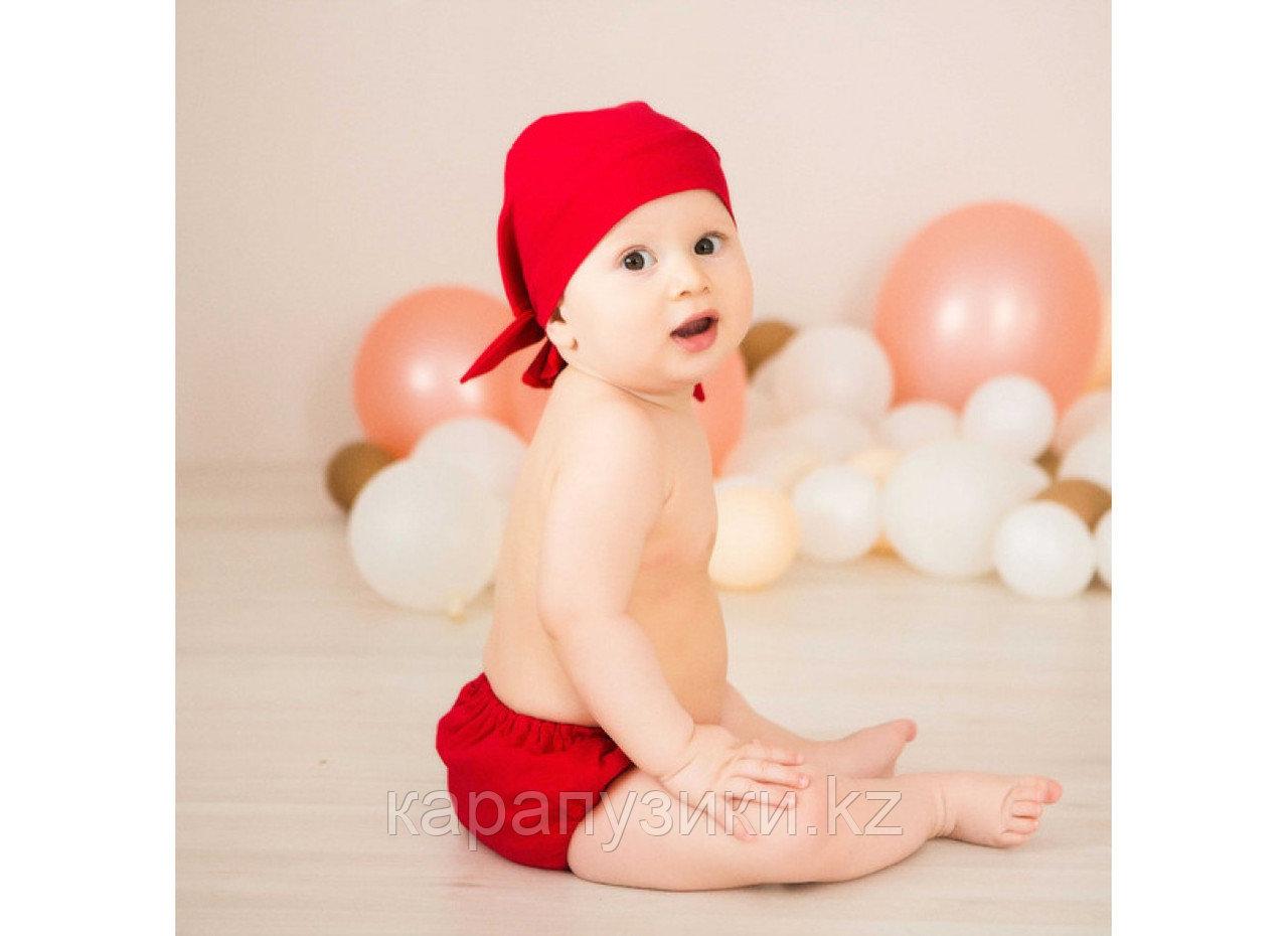 Подгузники для бассейна с красной  банданой