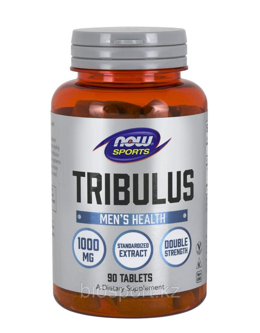 Now Foods Tribulus 1000 мг, 90 таблеток
