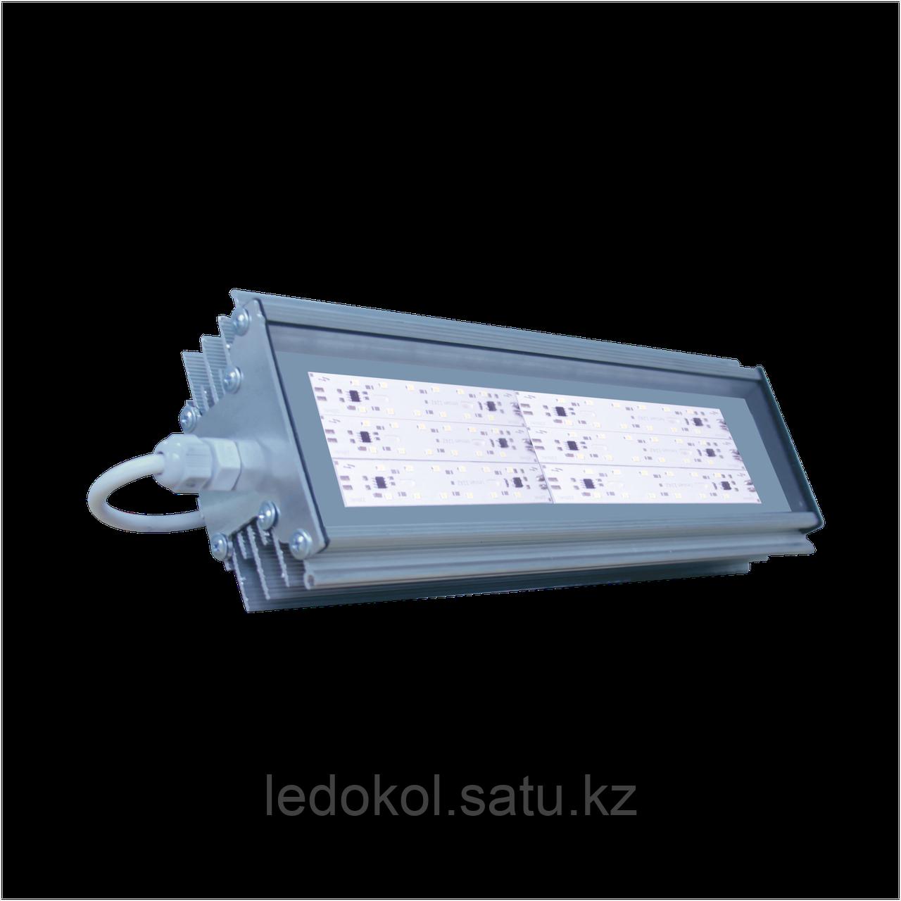 Светильник 60 Вт, Промышленный светодиодный, алюминиевый корпус