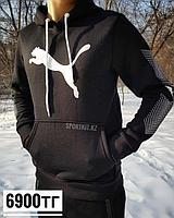 Толстовка черная Puma, фото 1