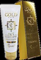 BOON7 Peel Off 24k Gold Mask Золотая Маска-Пленка для лица с Коллагеном и Ретинолом 100гр.