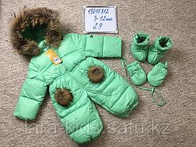 Комбинезон трансформер (зима) для новорожденных