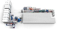 Aвтоматизированный завод по производству пенопласта 14 - 22 блоков/ч VIRO EPS