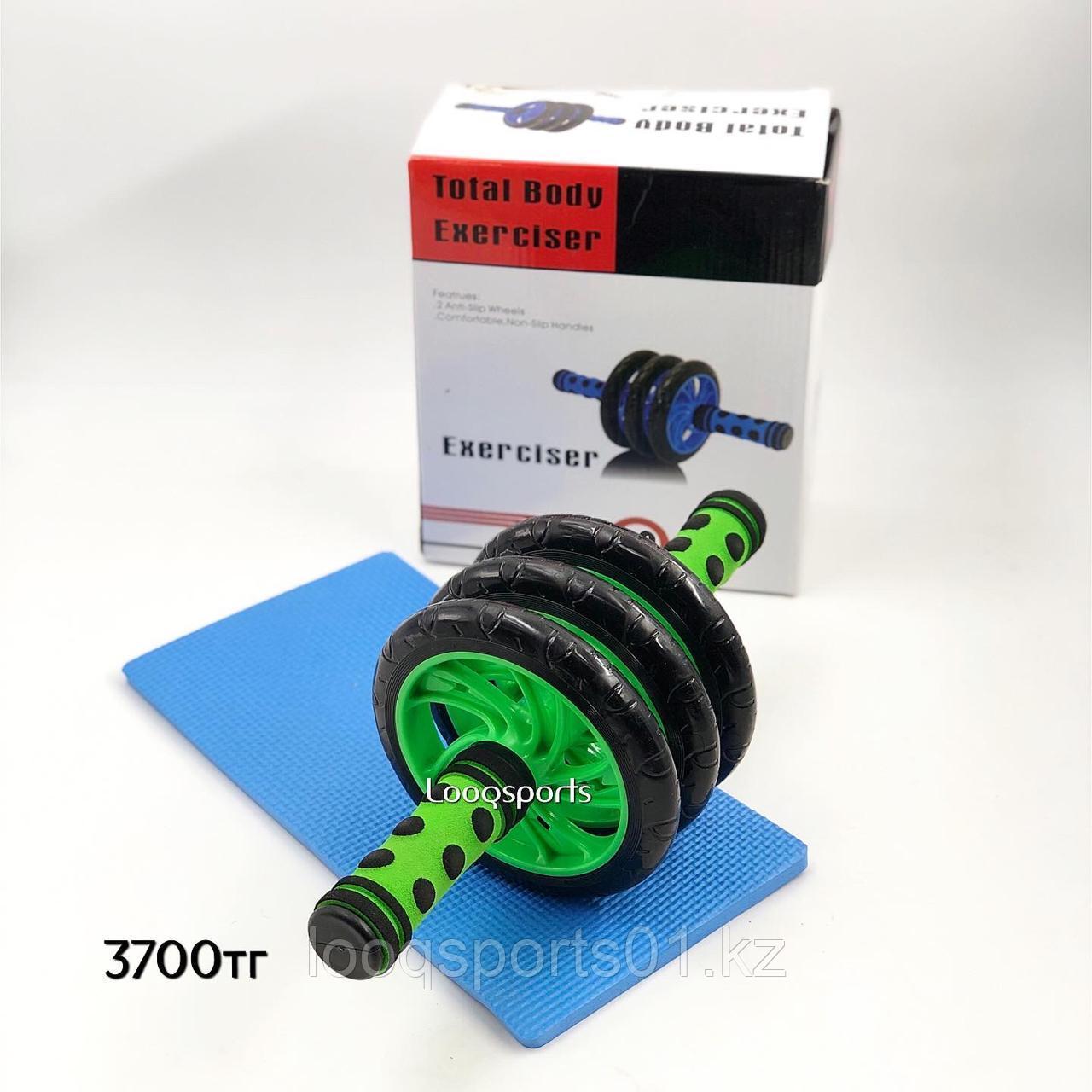 Гимнастический ролик (колесо) для пресса 3 колеса