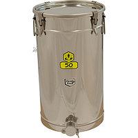Резервуар хранения меда с герметичной крышкой 50 кг