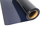 Термо флекс 0,5мх25м PU глубокий черный метр, фото 2