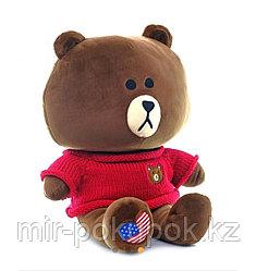 """Мягкая игрушка мишка""""Брауни""""42 см"""