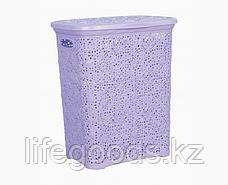 Кружевная корзинка для белья 40 л., фото 3