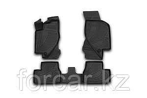 Коврики 3D в салон LADA Granta, 2011->, 4 шт. (полиуретан)