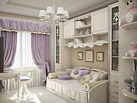 Дизайн штор для деских комнат