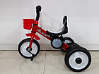 Детский трехколесный велосипед с задней фарой и мелодиями, фото 3