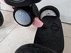 Детский трехколесный велосипед с задней фарой и мелодиями для девочек, фото 5
