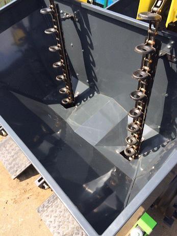 Картофелесажалка двухрядная навесная с увеличенным бункером СКН-300/2, фото 2
