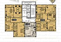 4 комнатная квартира в ЖК  Liberty  (Либерти)  123.83 м², фото 1