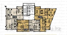4 комнатная квартира в ЖК  Liberty  (Либерти)  136.05 м²