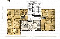 3 комнатная квартира в ЖК Liberty (Либерти)  102.2 м², фото 1