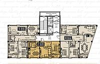 4 комнатная квартира в ЖК Liberty (Либерти)  117.77 м², фото 1