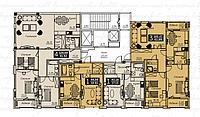 4 комнатная квартира в ЖК Liberty (Либерти)  128.68 м², фото 1
