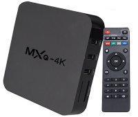 Бюджетная Android TV приставка (TV Box) с 4-х ядерным процессором, 1гб/8гб памятью, модель MXQ-4K