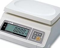 Весы электронные порционные CAS SW-05 (260×287×119мм, платформа 241×192мм, до 5 кг)