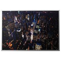 Картина с рамой Бьёркста, Огни Нью-Йорка 200x140 см ИКЕА