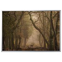 Картина с рамой БЬЁРКСТА, Лань 200x140 см ИКЕА