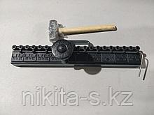 Забивная машинка для соединителей  SK на ленту, ширина машинки 650 мм.