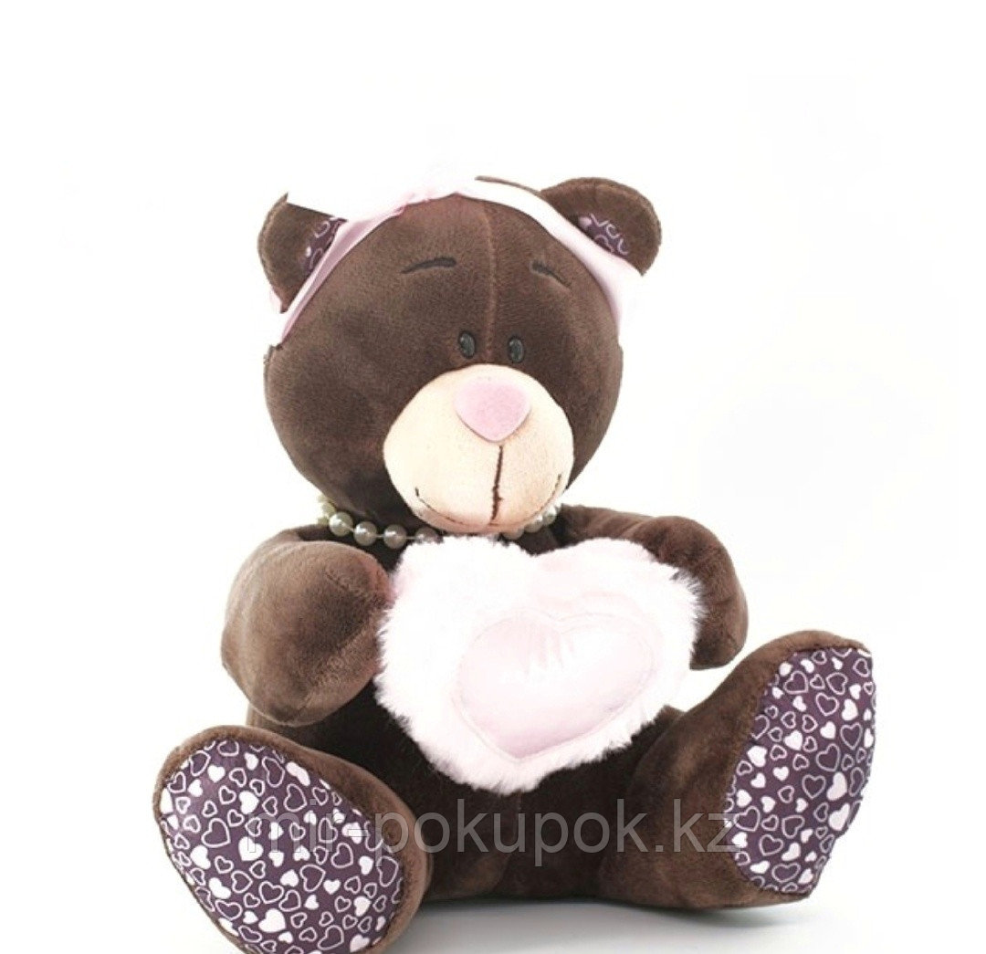 "Мягкая игрушка медведица ""Миледи""( Сhoсo Milk)   22 см"