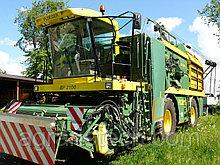 Комбайн для уборки спаржевой фасоли  PLOEGER BP 2100