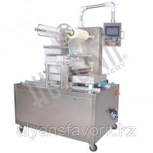 Автоматический запайщик лотков с функцией вакуумизации и газации HVT-450F, фото 2