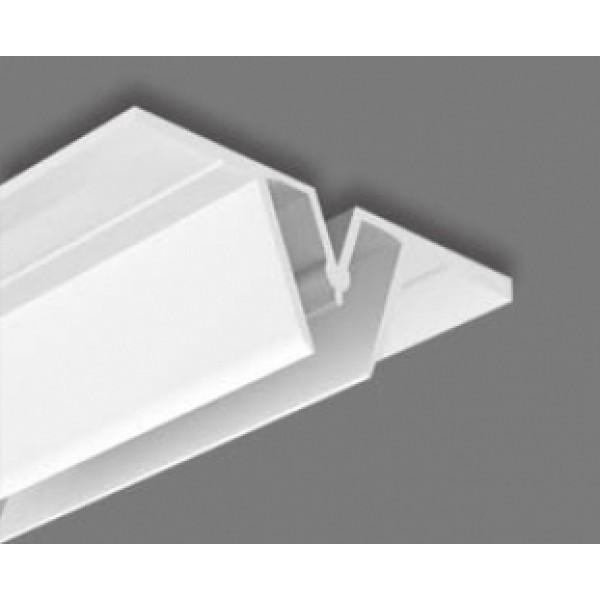 Багет разделительный пластиковый ПВХ 2,5м