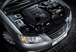 Двигатель и трансмиссия Hyundai Sonata (2005-2009)