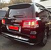 Комплект рестайлинга (переделка) на Lexus LX570 2007-2011 под 2012-2015 F sport, фото 7