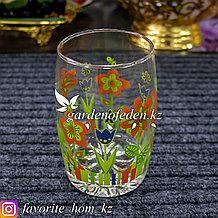 Набор стаканов, с декором. Материал: Стекло. Цвет: Прозрачный. Набор: 6шт.