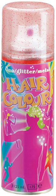 Спрей Sibel Fluo Glitter Hair Color для волос с блестками Красный 125 мл
