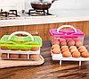 Контейнер для хранения яиц 24 шт. салатовый, фото 4
