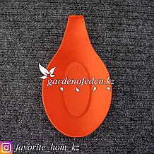 Подставка для ложки. Материал: Силикон. Цвет: Красный.