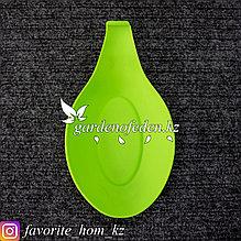 Подставка для ложки. Материал: Силикон. Цвет: Зеленый.