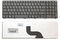 Клавиатура для ноутбука Packard Bell TM81 (черная, RU)