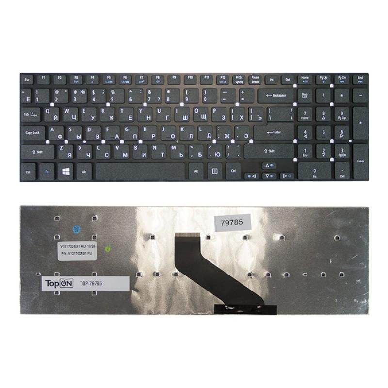 Клавиатура для ноутбука Acer TravelMate 5760 (черная, RU)